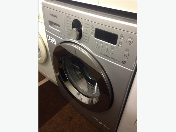 SAMSUNG ECO BUBBLE WASHING MACHINE 8KG