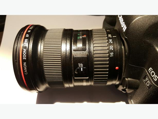 Canon 16-35mm F2.8 USM mark II