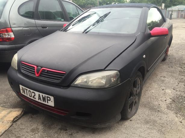 VAUXHALL ASTRA MK4 BERTONE CABBY 3 DOOR 1.6 16V BREAKING ALL PARTS
