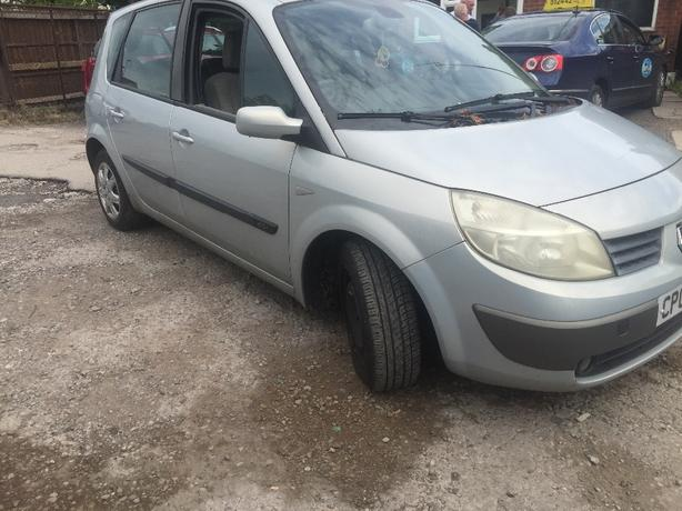 RENAULT SCENIC MKII 03-08  SILVER 1.5 DCI BREAKING ALL PARTS AVAILABLE