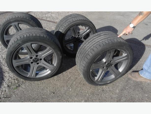 18 inch wheels and tires just refurbished