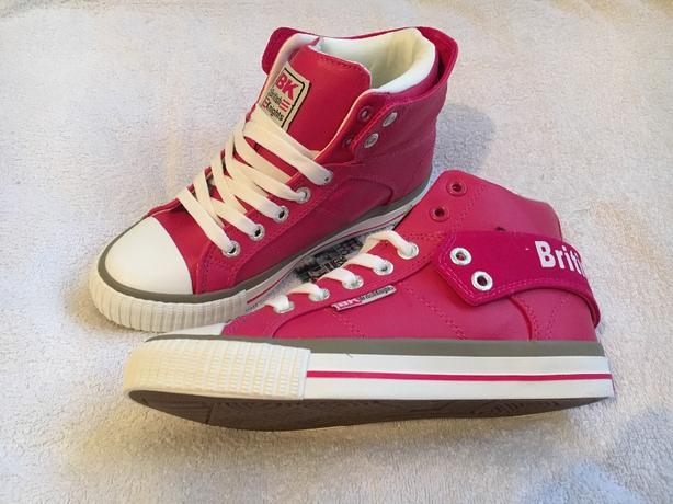 Girls British Knights Hightops Uk Size 1
