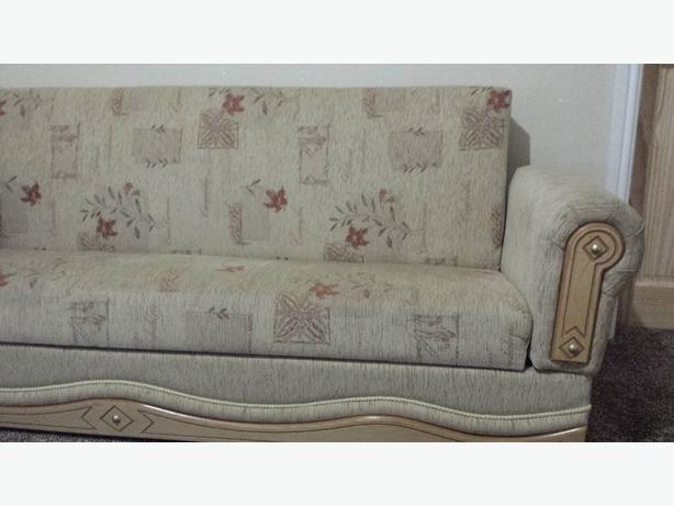 3 seater fabric setee