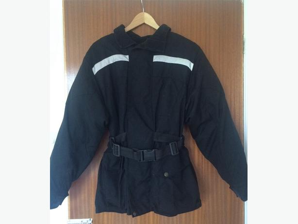 Frank Thomas XS black motorcycle jacket