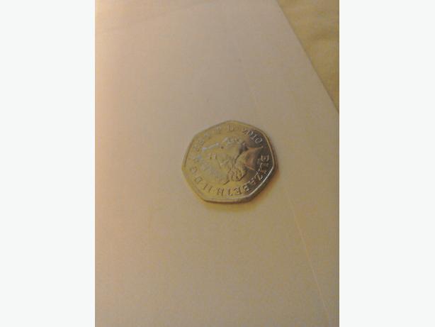 Rare 50 pence
