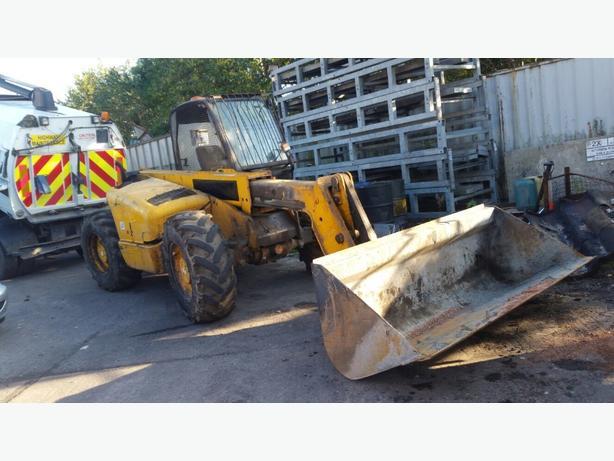 JCB front loader