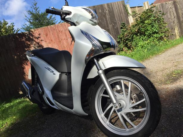 Honda 125cc SH-ABS Low milliage - 2014 Reg