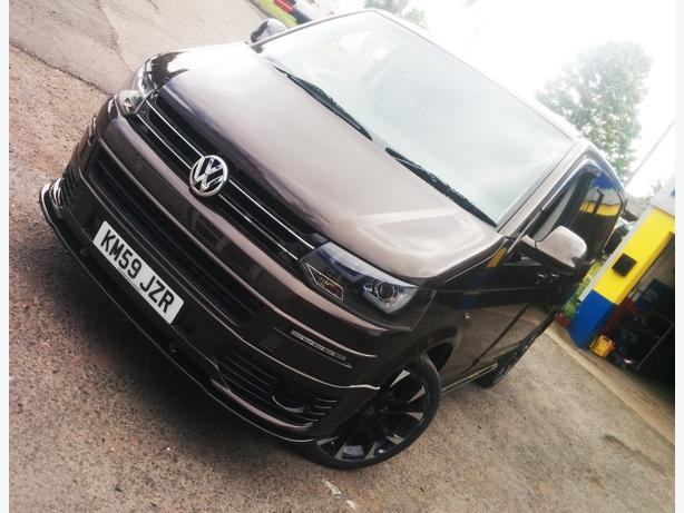 Volkswagen Transporter T5.1 Barn Door 2009 1.9TDi Chocolate Brown