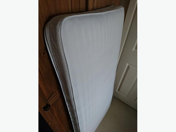 FREE: Mothercare Pocketspring Airflow Cotbed Mattress