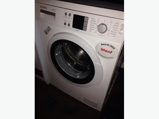 BOSCH LCD DISPLAY 8KG WASHING MACHINE