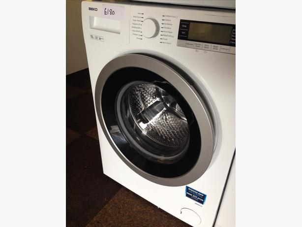 BEKO WASHING MACHINE 10KG LCD DISPLAY