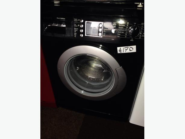 BOSCH BLACK 6KG WASHING MACHINE