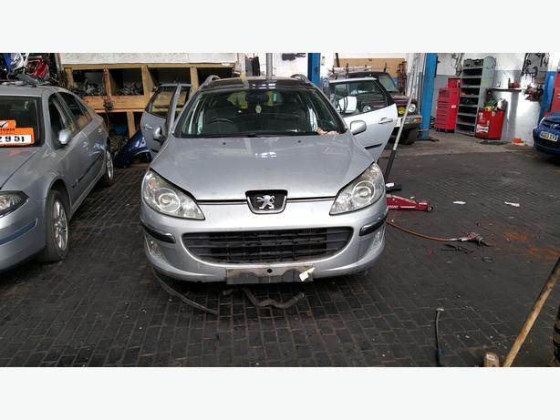 PEUGEOT 307 07 REG FRONT BUMPER IN SILVER COLOR FOR SALE