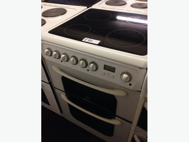 CREDA ELECTRIC COOKER 60CM DOUBLE OVEN