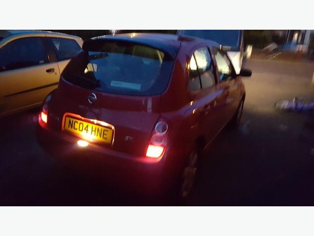 micra sx 2004 mot April 2017
