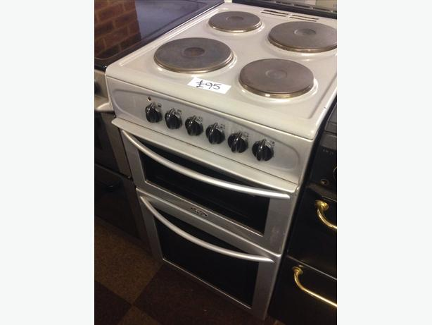 BELLING PLATED TOP ELECTRIC COOKER 50CM