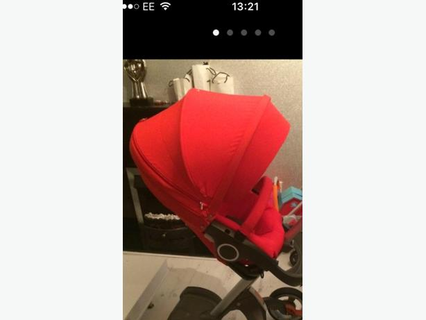 stokke textiles red