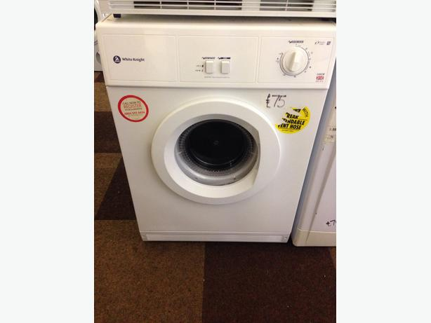 VENTED WHITE KNIGHT 6KG DRYER