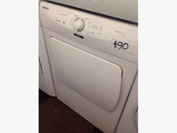 HOOVER VENTED DRYER 8KG