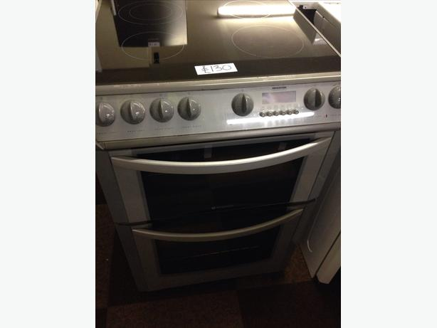HOTPOINT 60CM FAN ASSISTED DOUBLE OVEN