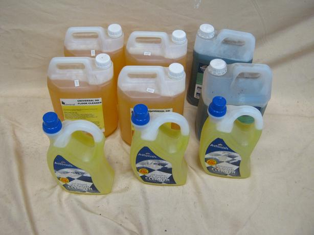 Job Lot Of Floor Cleaner