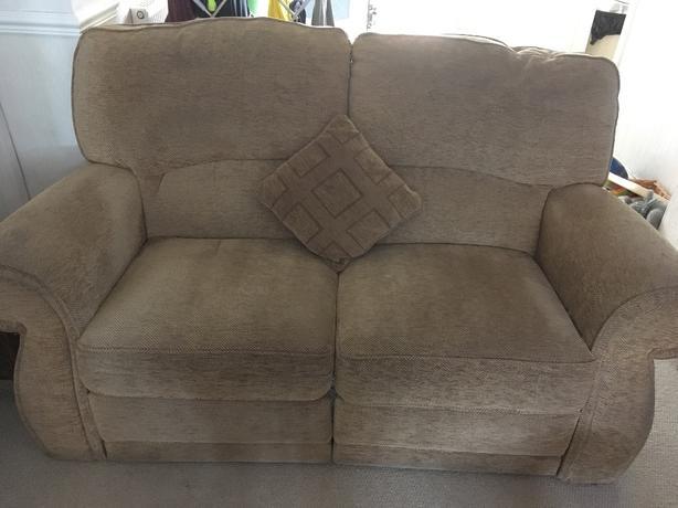 GPlan electric reclining sofa