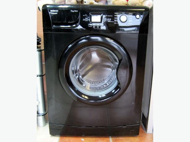 Beko Black Washing Machine, 7kg Capacity, 1200 Spin, 6 Month Warranty