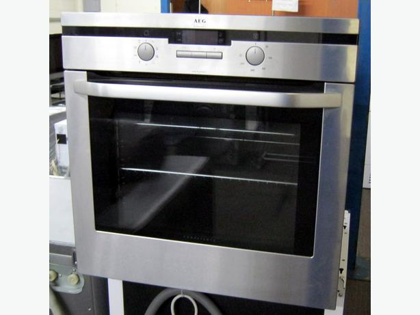 AEG Electric Built In Oven / Integrated Oven, Silver, 6 Month Warranty
