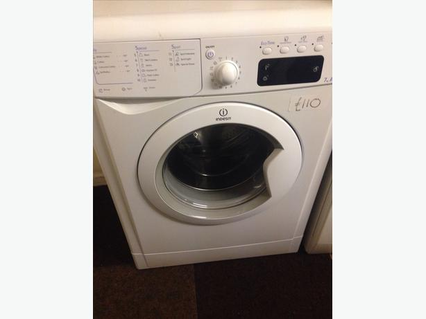 INDESIT WASHING MACHINE 7KG WHITE