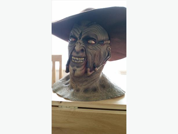 Jeepers creepers mask and hat horror