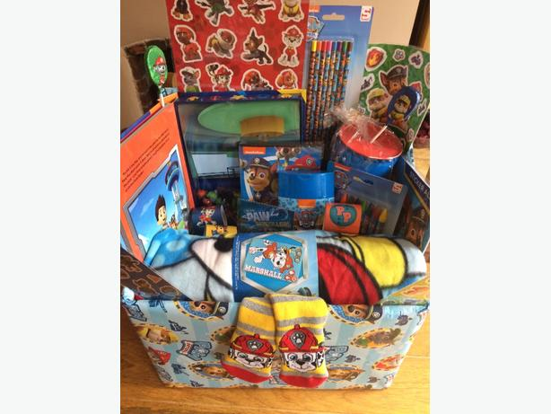 paw patrol childrens gift hamper toy bundle christmas birthday present
