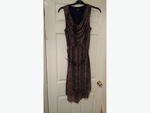 Womens calf length dress