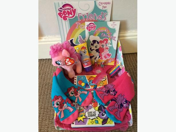 my little pony gift hamper toy bundle childrens christnas birthday present
