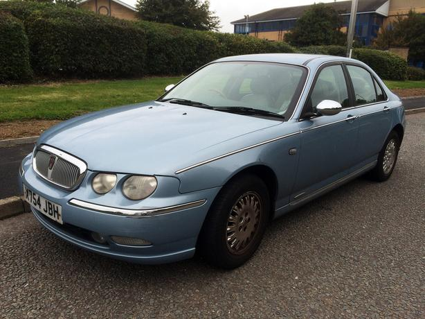 Rover 75 2.0 CDT Connoisseur, MOT June 2017, Tan Leather/Electric Seats