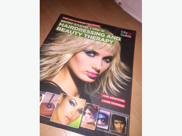 hairdressing and beaty book