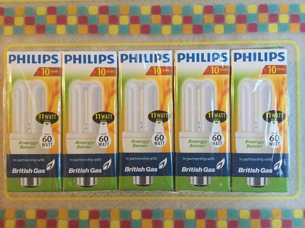 Philips low energy light bulbs