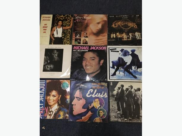 30 pound various vinyls