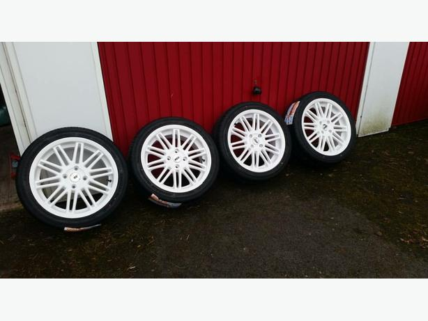 BRAND NEW 17inch ZCW Wheels With BRAND NEW Tyres (OFFERS)