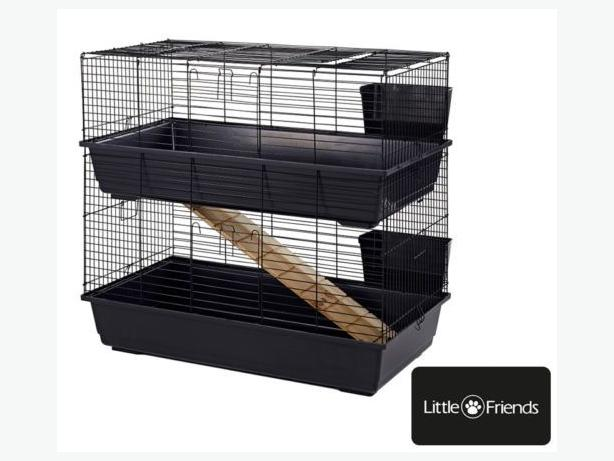 double guenie pig cage