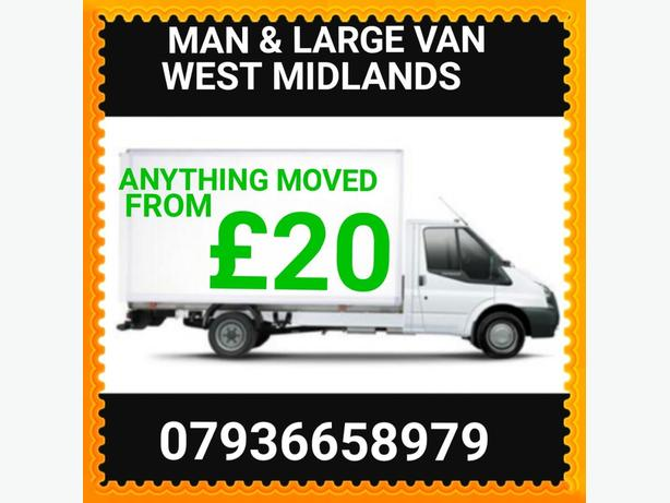 **Man & Van** 24/7  CALL TODAY