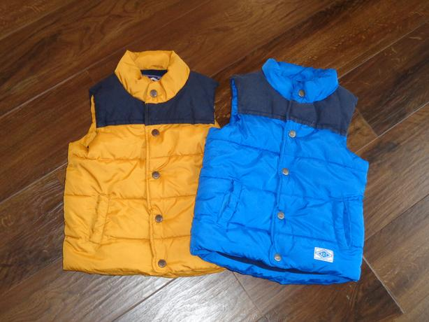 2 x Next Body Warmers Age 2-3
