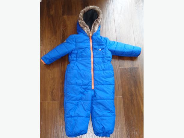 Next Snow Suit in Cobalt Blue Age 2-3