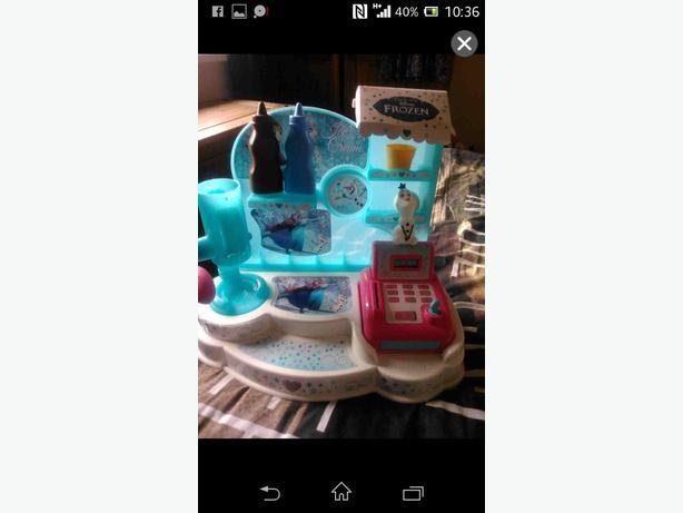 frozen icecream set