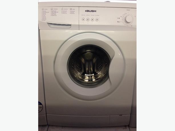 BUSH 6KG WHITE WASHING MACHINE