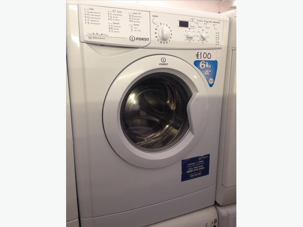 INDESIT 6KG WHITE WASHING MACHINE