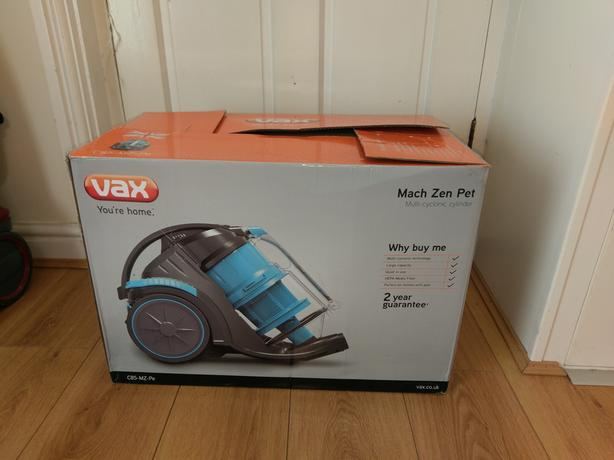 Vax Zen Pet Cylinder Vacuum Brand New Never Used