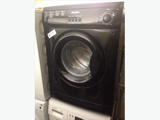 BUSH WASHING MACHINE 6KG BLACK 1200 SPIN