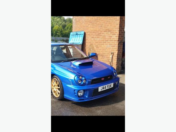 Subaru impreza turbo sti replica