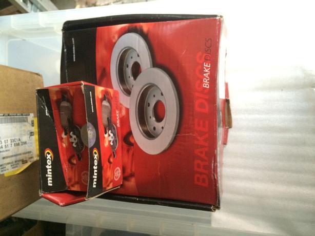 vaxhaull Brake and Disc pads