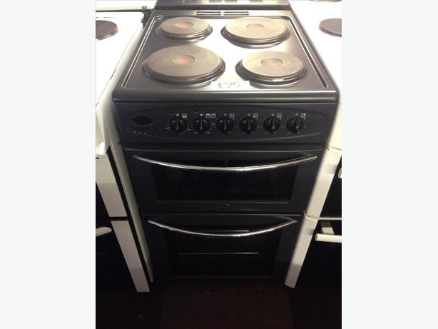 BELLING DOUBLE OVEN FAN ASSISTED ELECTRIC COOKER 50CM